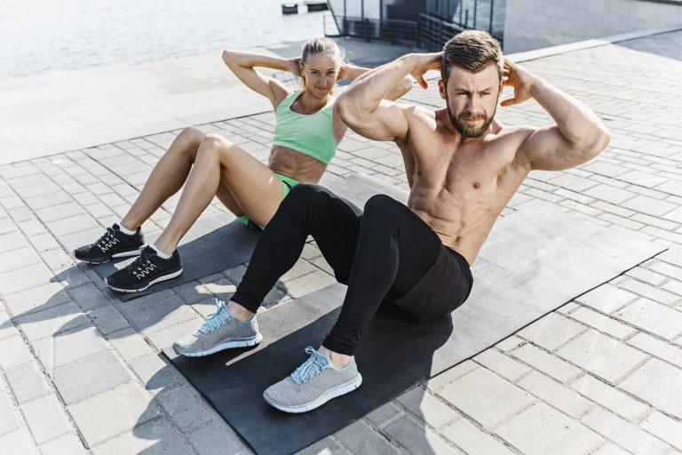 Exercices abdos crossfit